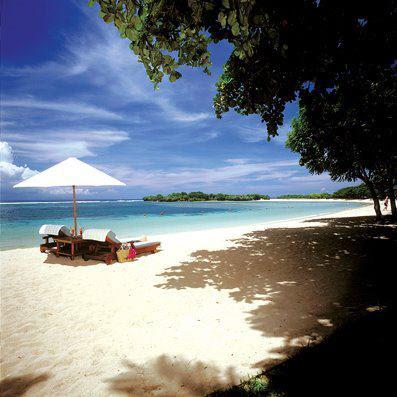 Gambar Foto Keren Pemandangan Pantai Nusa Dua Bali