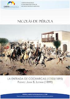 Entrada a Lima de Nicolás de Piérola y sus montoneros por la puerta de Cocharcas