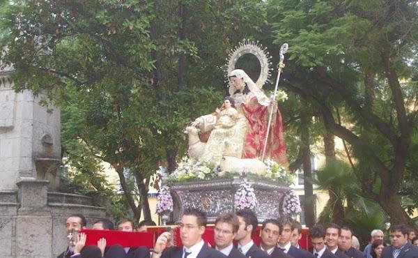 Horario e Itinerario Rosario Vespertino Divina Pastora de las Almas. Málaga 23 de Octubre del 2021