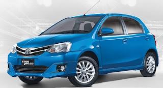 Harga Toyota Etios Valco Blue Metallic di Pontianak