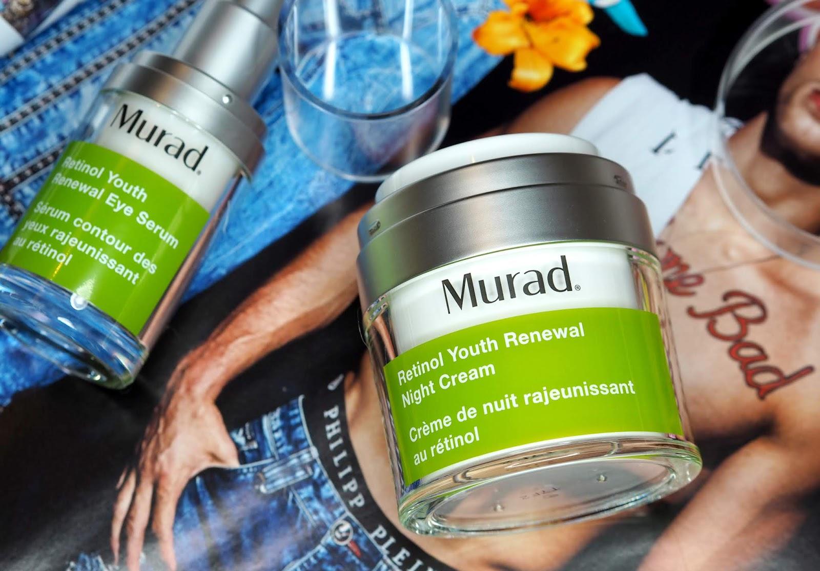 Review: Murad Retinol Youth Renewal Night Cream & Eye Serum