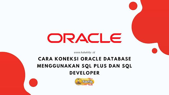 cara koneksi oracle database