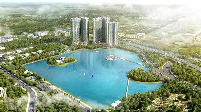 Môi trường xanh Vinhomes Phạm Hùng