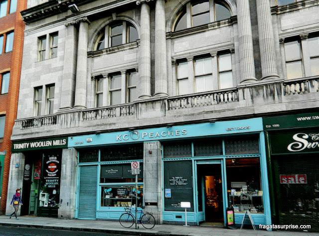 KC Peaches, comida orgânica e saudável em Dublin