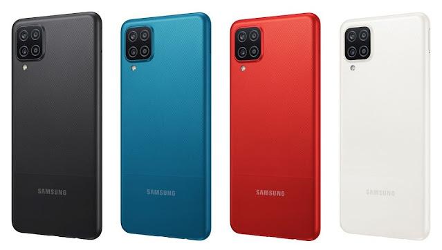 Galaxy A12  rouge Prix au Maroc, caractéristiqueset fiche technique. Le Galaxy A12 SM-A125F couleur