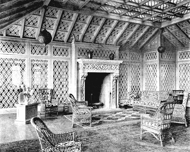 photograph of an 1897 sun room