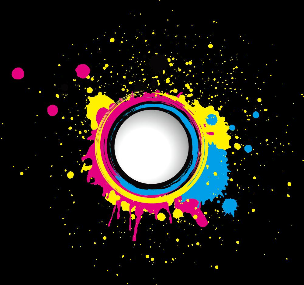 Png Colorful Splash Lens Download