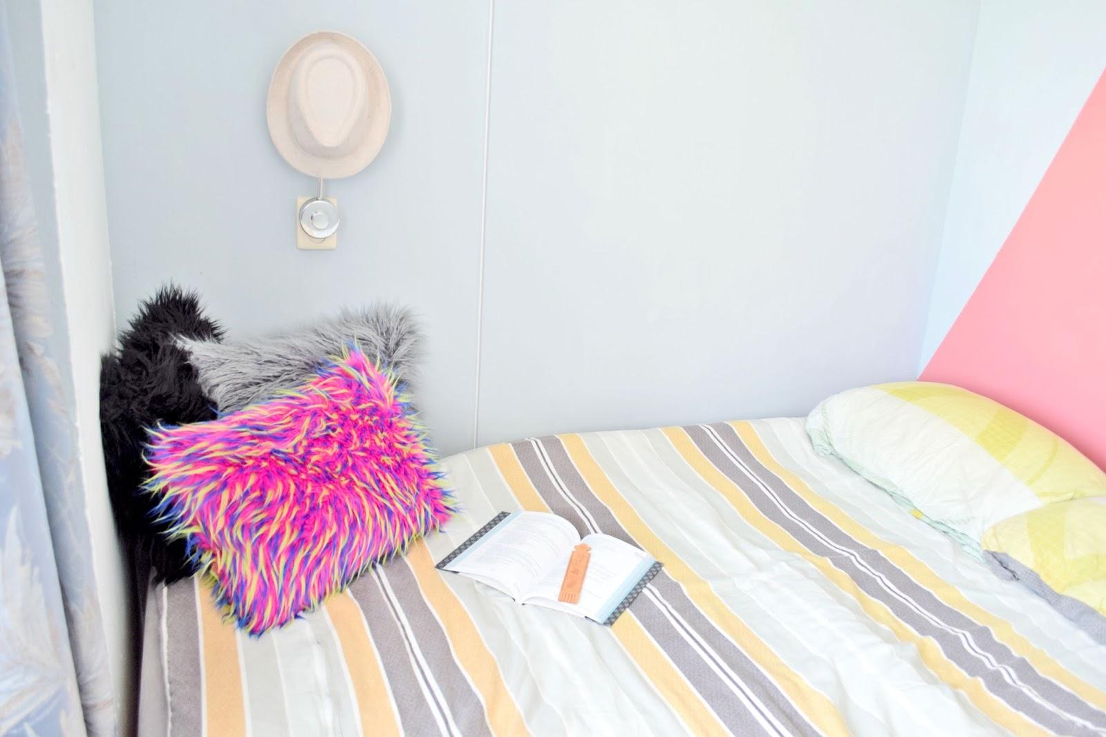 sypialnia w kolorze