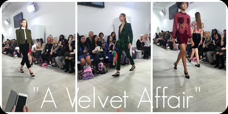 a velvet affair london fashion weekend