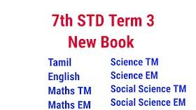 7th STD Term 3 New Book