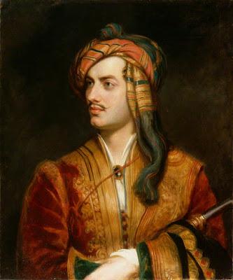 Lord Byron por Thomas Phillips (National Portrait Gallery)
