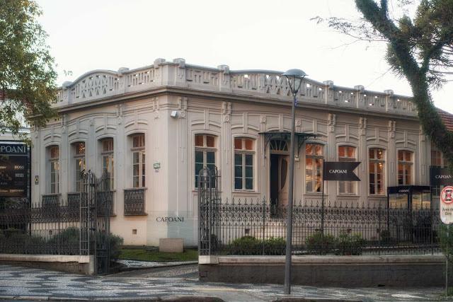 A casa de Vicente Machado, aquele que fugiu