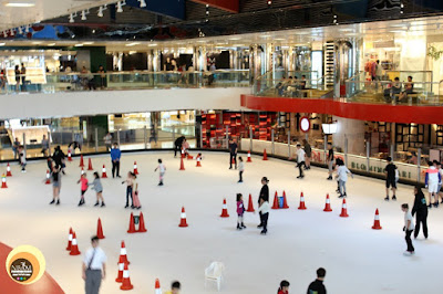 Ice skating rink at city plaza mall, Hong Kong, NBAM photography