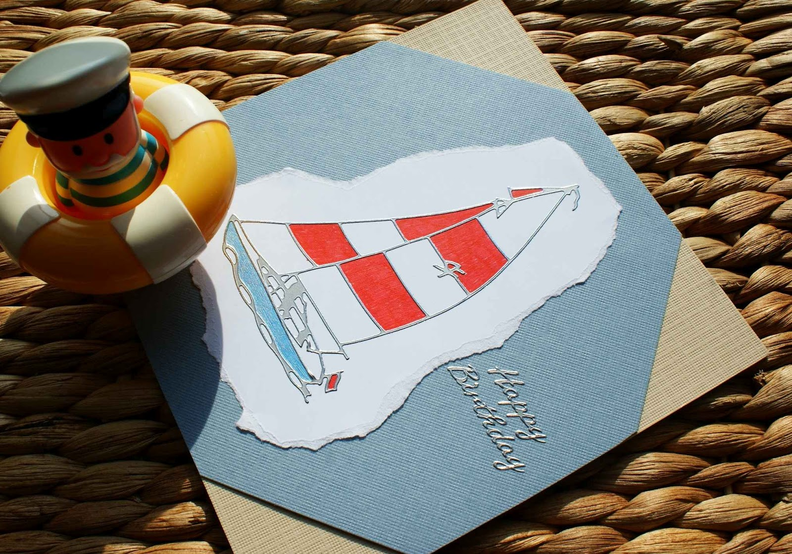 craft magic quick and easy handmade birthday card for men