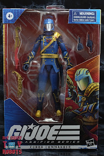G.I. Joe Classified Series Cobra Commander (Regal Variant) Box 01