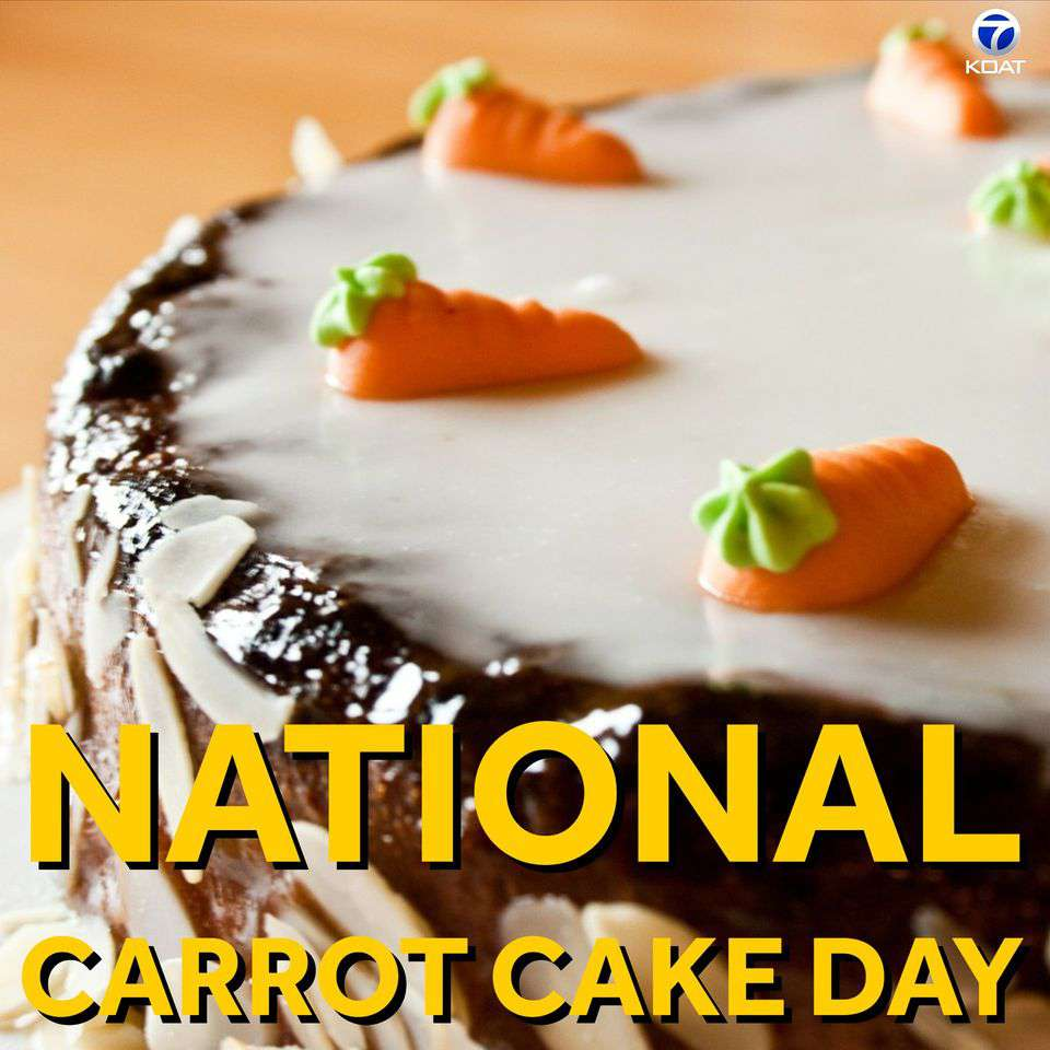 National Carrot Cake Day Wishes Lovely Pics