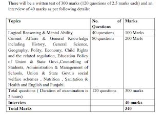 पीपीएससी प्रिंसिपल नौकरियों के लिए परीक्षा पैटर्न और पाठ्यक्रम
