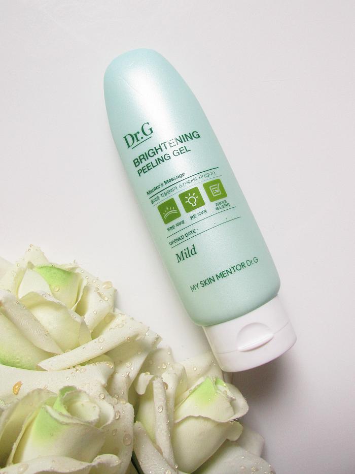 Review: Dr. G Brightening Peeling Gel Mild - 120g - 22,80 € - missandmissy.de koreanische kosmetik in deutschland
