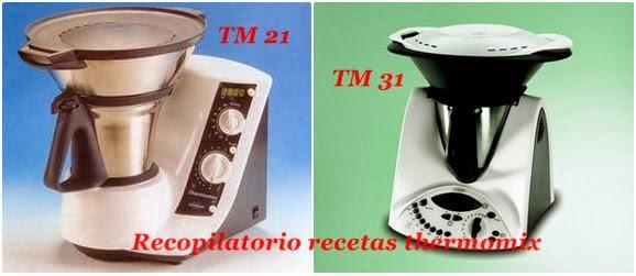 Recopilatorio De Recetas Thermomix Equivalencias De Tm31 Y