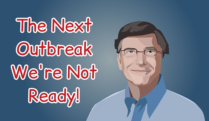 In 2015 Bill Gates Warned Us About Covid-19 Outbreak [VIDEO]