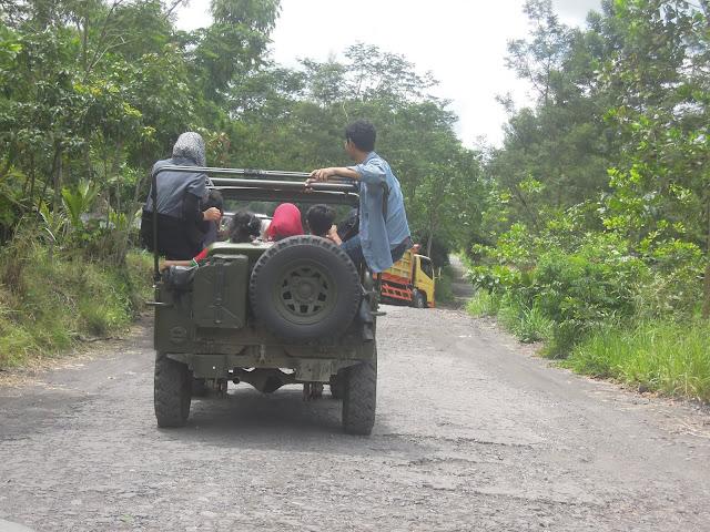 Wisata Lava Tour Merapi Yogyakarta