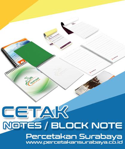Cetak Blocknote Surabaya
