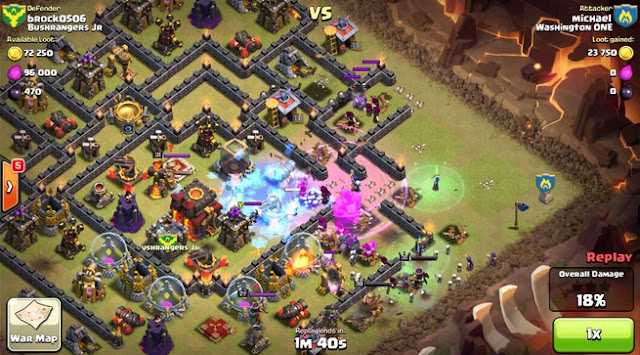 [CLASH OF CLANS] CARA WAR ATTACK TH 10 DENGAN GOWIVA GOWIWI GOWIPE