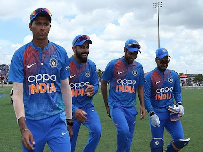 Ind tour of WI 2019 1st T20I Match Cricket Win Tips