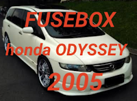 fusebox HONDA ODYSSEY 2005