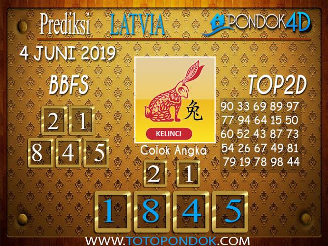 Prediksi Togel LATVIA PONDOK4D 04 JUNI 2019