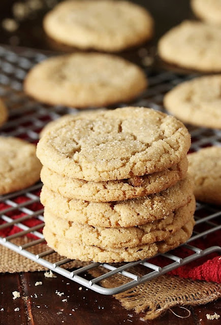Stack of Brown Sugar Cookies Image