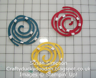 Stampin' Up! Made by Susan Simpson Independent Stampin' Up! Demonstrator, Craftyduckydoodah!, Swirly Scribbles Thinlets Dies, Foam Adhesive Strips,