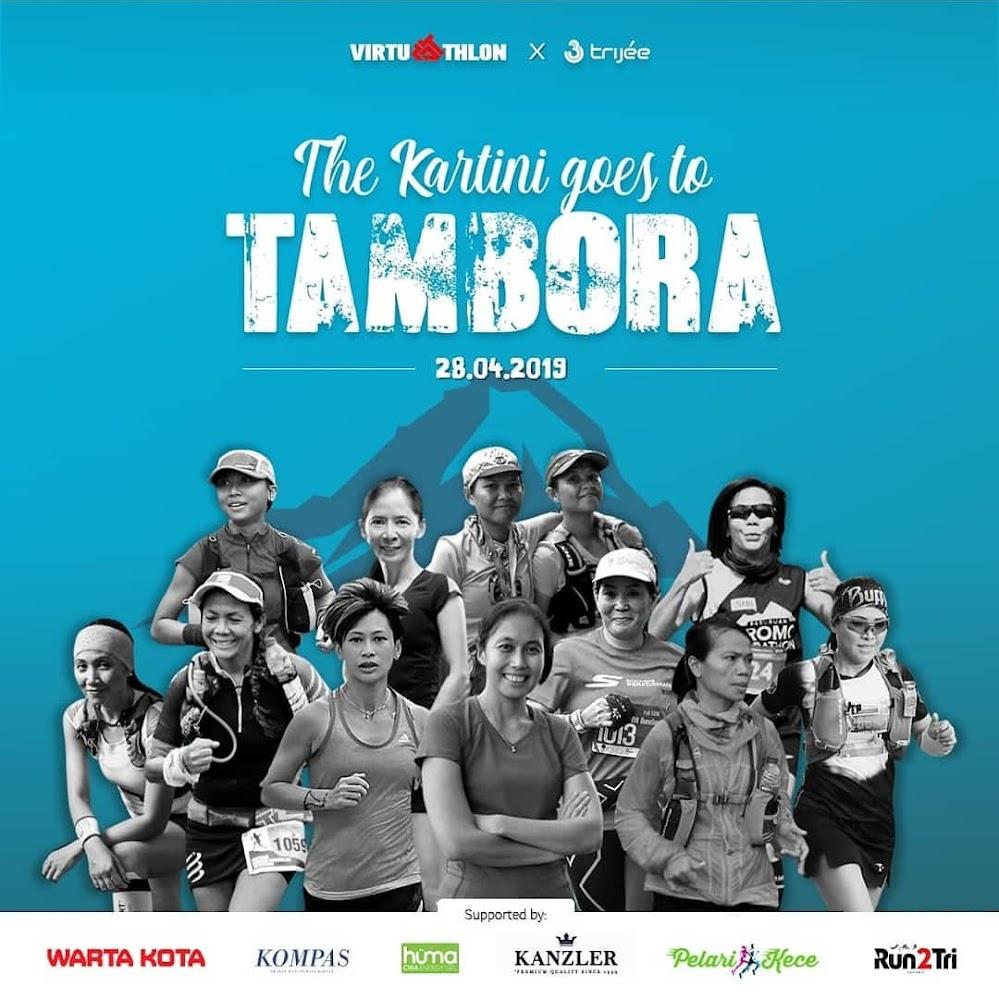 Friendship Run - The Kartini Goes To Tambora • 2019