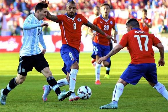 Prediksi dan susunan pemain Argentina vs Chile pada partai final Copa America 27/6/2016