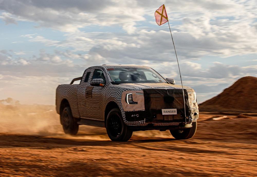Ford tung video hé lộ Ranger thế hệ mới