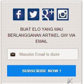 Cara Memasang Widget berlangganan Email di Blogger