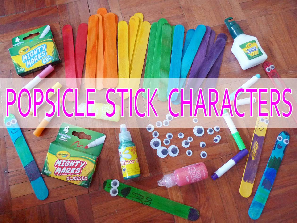 mrsmommyholic diy popsicle stick characters