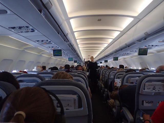 Wnętrze Airbusa A320