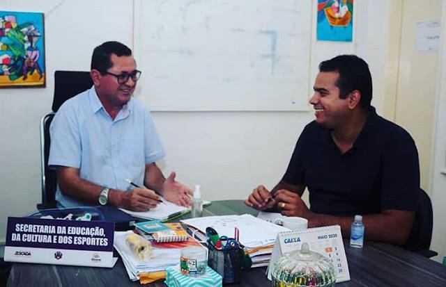 Dupla Klaus e Kennedy tem ganhado adesão do grupo para formação de chapa do PSB para a prefeitura de Escada