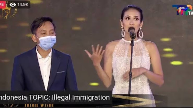 Tak Mahir Bahasa Inggris, Miss Eco Indonesia Pakai Translator Jawab Pertanyaan Juri