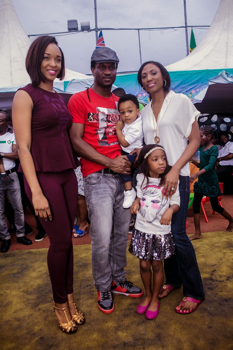 Paul And Peter Okoye S Family Ali Baba Other Stars At