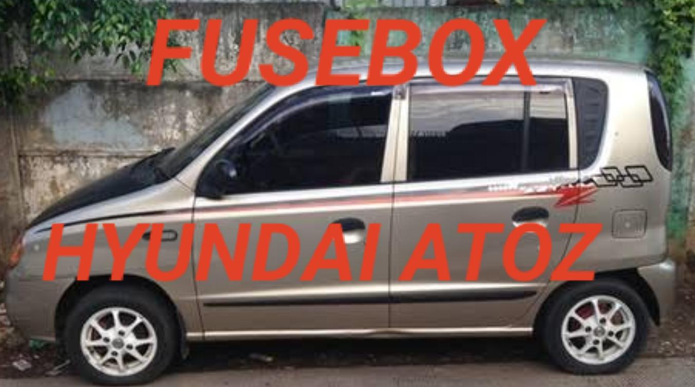 Letak Box Sekring Hyundai Atoz