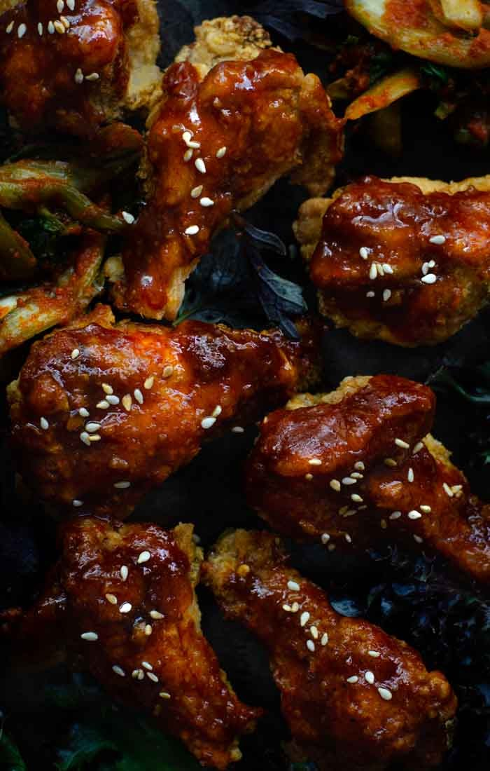 crispt Korean fried chicken recipe