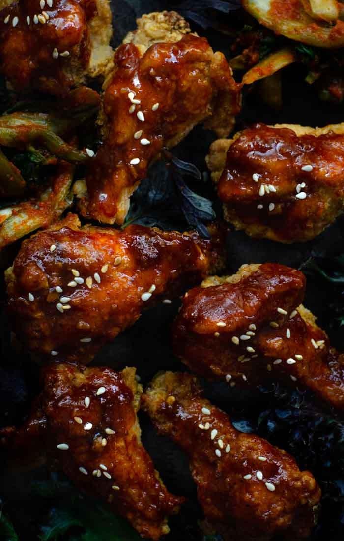 crispy Korean fried chicken recipe