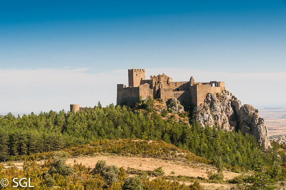 Castillo de Loarre. Visitando Huesca