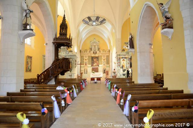 photo intérieur église st hilaire de riez 85