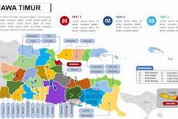 Peta Jawa Timur PPTX (Powerpoint)