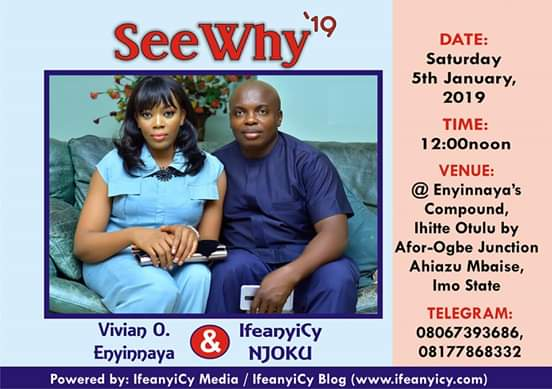 IMO GOES AGOG AS POPULAR IMO BLOGGER AND MEDIA INFULENCER, IFEANYICY