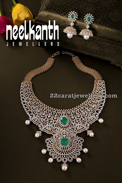 Regal Diamond Sets by Neelkanth Jewellers