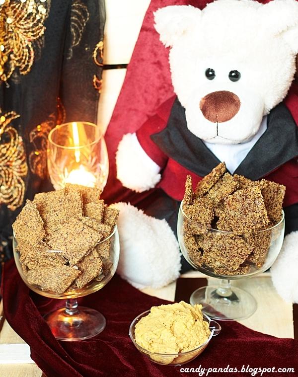 Krakersy z nasion amarantusa i canihua (bez glutenu, cukru, laktozy, wegańskie)